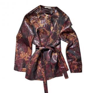 Mes Demoiselles reversible embroidered jacket
