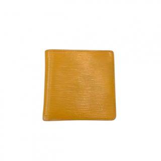 Louis Vuitton Yellow Epi Leather Marco Wallet
