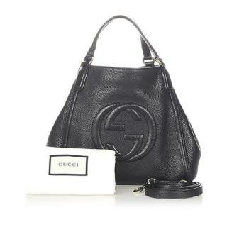 Gucci Black Soho 2way Shoulder Bag