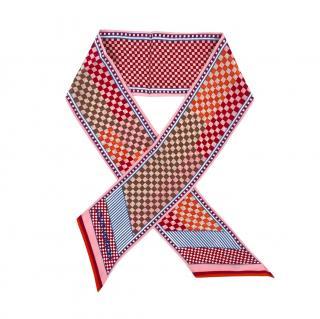 Louis Vuitton Mullticoloured Printed Silk Bandeau