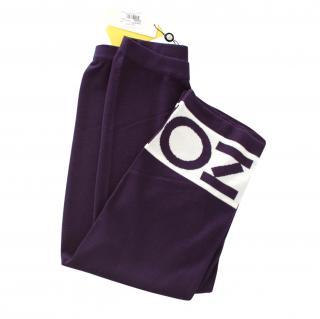 Kenzo Wool Blend Logo Culottes
