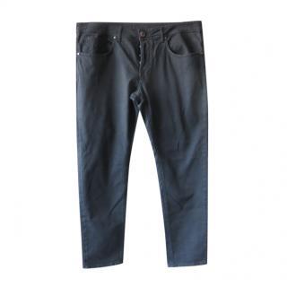 Marco Pescaloro Black Classic Jeans