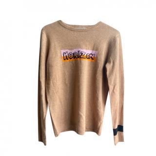 Bella Freud Horizon Intarsia Knit Jumper
