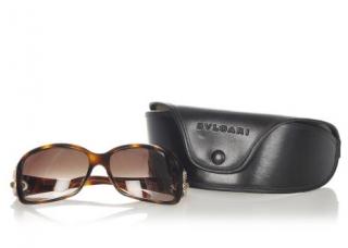 Bvlgari Tortoiseshell 8013-b Sunglasses