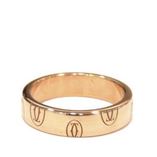 Cartier 18ct Rose Gold Happy Birthday Ring - Size 11