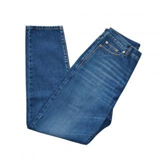 Saint Laurent Blue Slim Leg Jeans