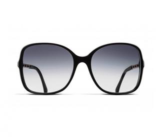 Chanel 5210Q Black Square Sunglasses