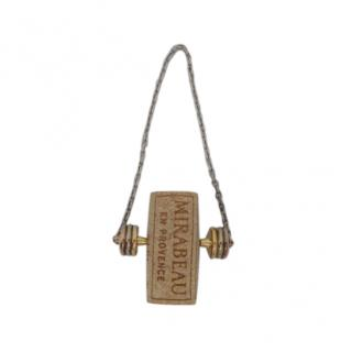 Cartier Sterling Silver & Gold Cork Chain