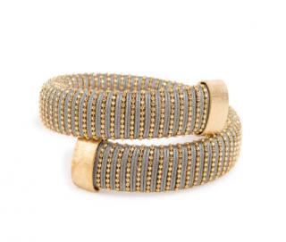 Carolina Bucci Caro gold-plated Lurex bracelet