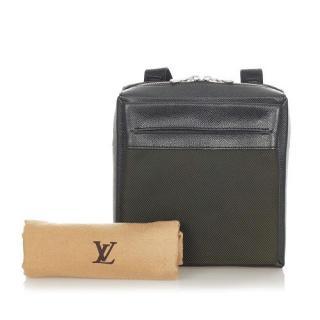 Louis Vuitton Sayan Messenger Bag Taiga Leather and Canvas