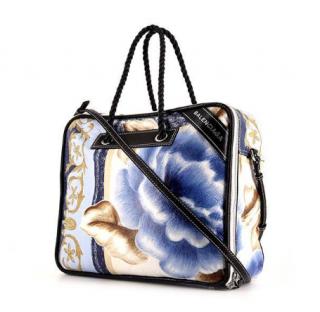 Balenciaga Blanket Square Large Shoulder Bag