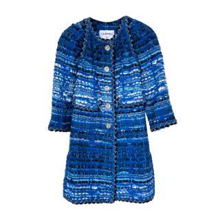 Chanel Paris/Greece Blue Lesage Tweed