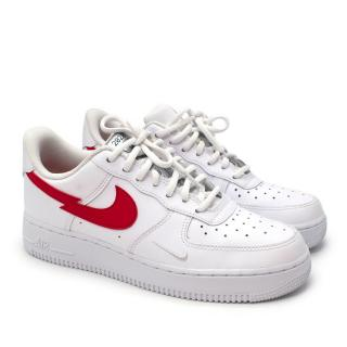 Nike Air Force 1 LV8 Euro Tour White University Red Sneakers  Sold Out