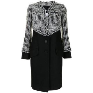 Chanel Lesage Tweed Trompe L'oeil Coat