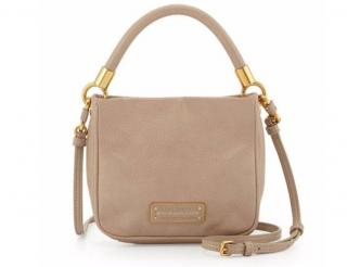 Marc by Marc Jacobs beige leather bag