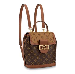 Louis Vuitton Monogram Reverse Dauphine Backpack