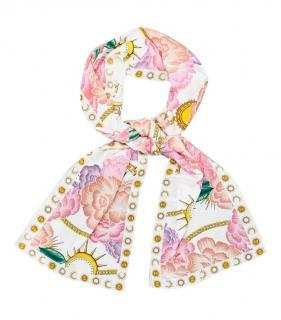 Hayley Menzies Silk Luna Floral Scarf