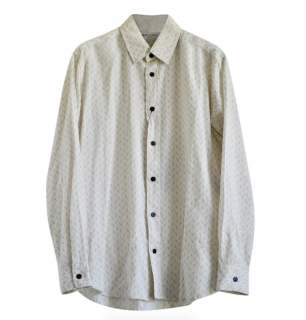 Saint Laurent Linen Blend Oversize Shirt