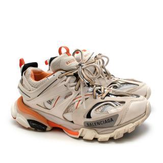 Balenciaga Track logo-detailed mesh and rubber sneakers