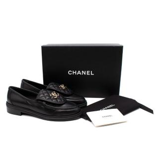 Chanel Black Quilted Leather Loafers - Colour Sold Out/Rare