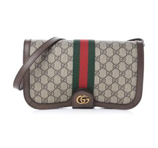 Gucci Supreme Ophidia Flap Messenger Bag