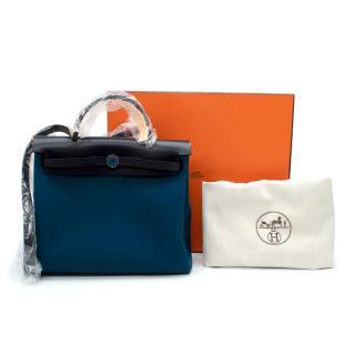 Hermes Deep Blue/Indigo Herbag Zip 31 Retourne Laque Bag - SOLD OUT