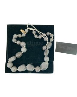 Lola Rose Grey Agate Beaded Necklace