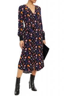 Ba&Sh Multicoloured Floral Print Malny Dress