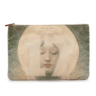 Givenchy Madonna 17 Printed Canvas Pouch