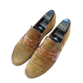 Berluti Limited Edition Handmade Suede Loafers