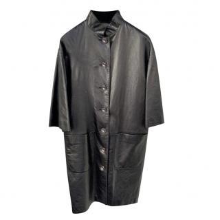 Chanel Paris/Bombay Leather Runway Jacket