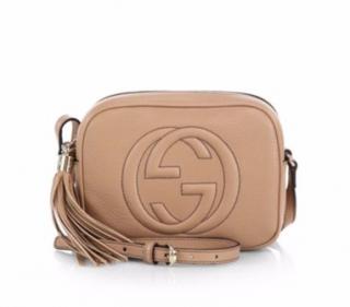 Gucci Soho Nude Disco Shoulder Bag