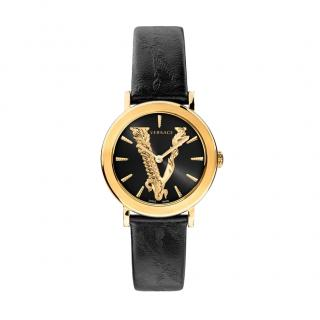 Versace Black Virtus 36mm Watch
