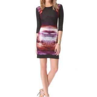 McQ by Alexander McQueen Storm Print Shift Dress