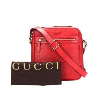 Gucci Diamante Leather Crossbody Bag