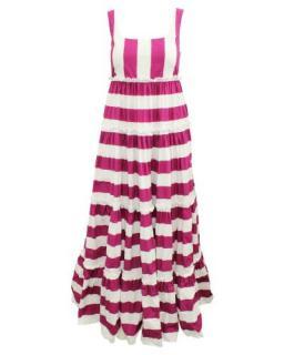 Dolce & Gabbana Ibiza Striped Maxi Dress