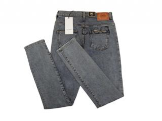 Gucci Blue Mystic Print Classic Jeans