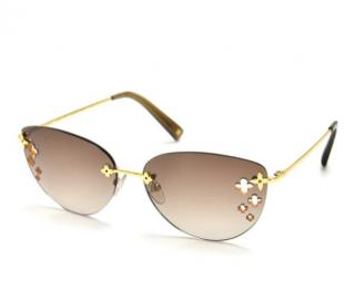 Louis Vuitton Desmayo Cat-Eye Sunglasses