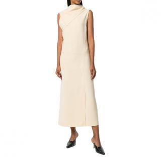 Joseph Ceil fluid twill dress