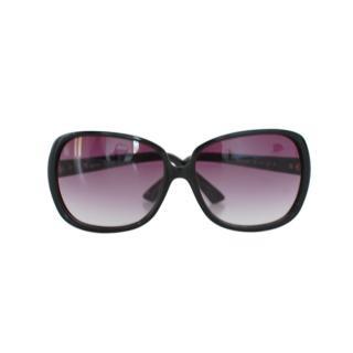 Missoni Black Zig-Zag Detail Sunglasses
