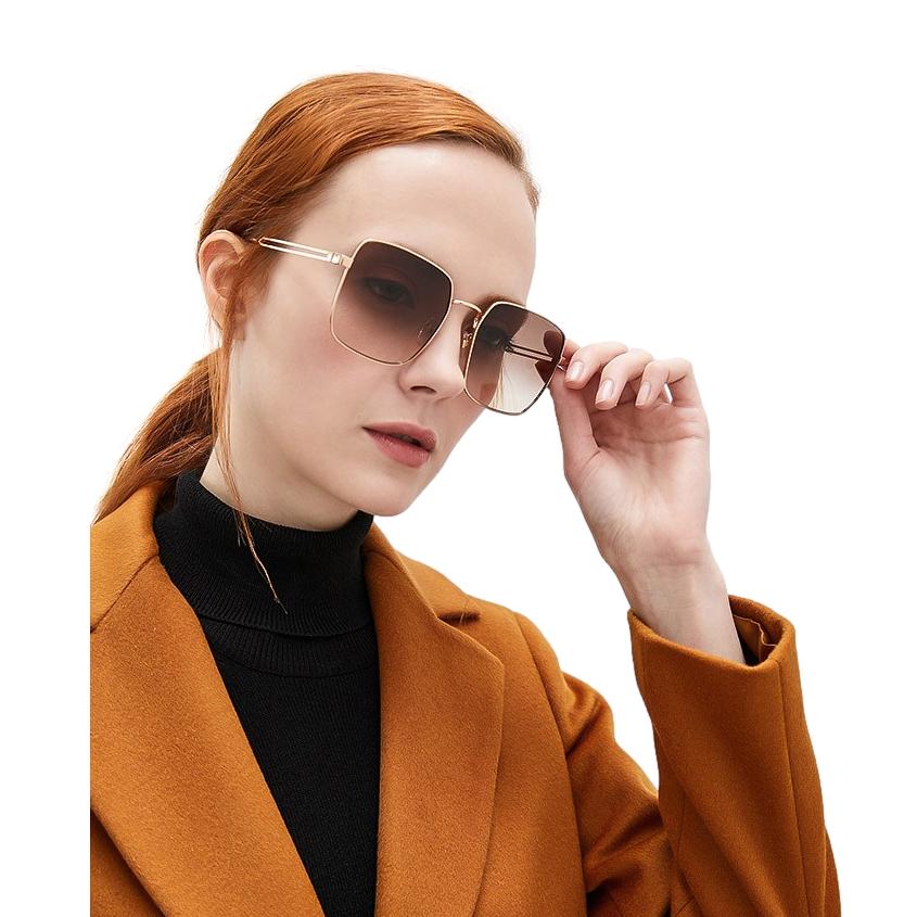 Givenchy GV 7148 Rose Gold Square Sunglasses