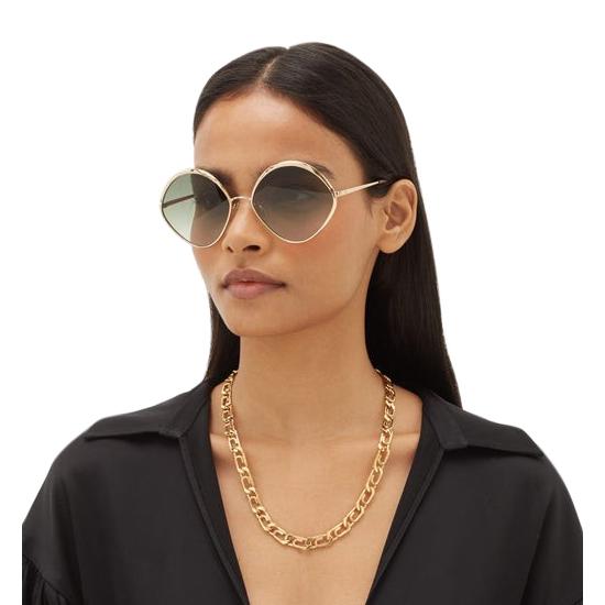 Chloe Gold Dani CE168S sunglasses