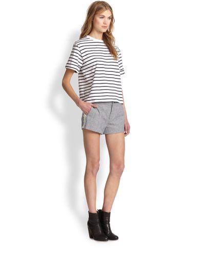 Rag & Bone Striped Boxy T-Shirt