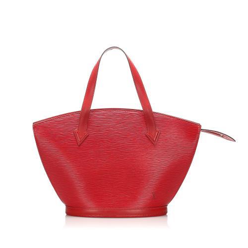 Louis Vuitton Red Epi Saint Jacques PM Bag