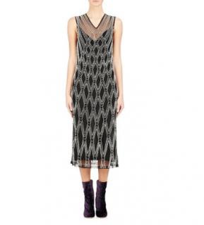 Dries Van Noten 'Detmer' Black Pearl Dress
