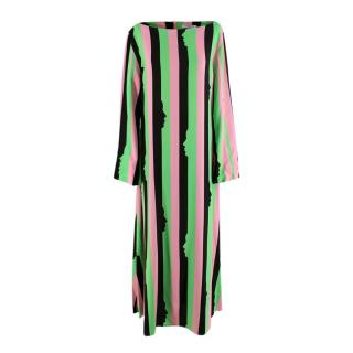 as/ Vivetta Miram Striped Midi Dress