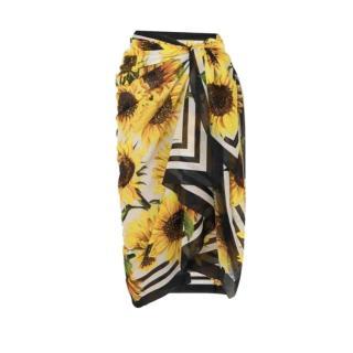 Dolce & Gabbana Sunflower Print Pareo