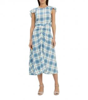 Paper London Silk Crepe De Chine Dutch Dress