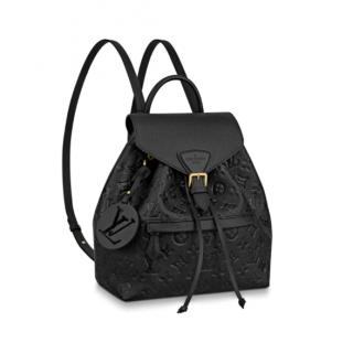 Louis Vuitton Black Monogram Empreinte Montsouris Backpack
