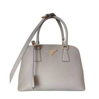 Prada Pomice Saffiano Leather Small Promenade Bag